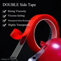 300cm transparent silicone double sided tape sticker for car high strength high strength tape party balloon decoration supplies