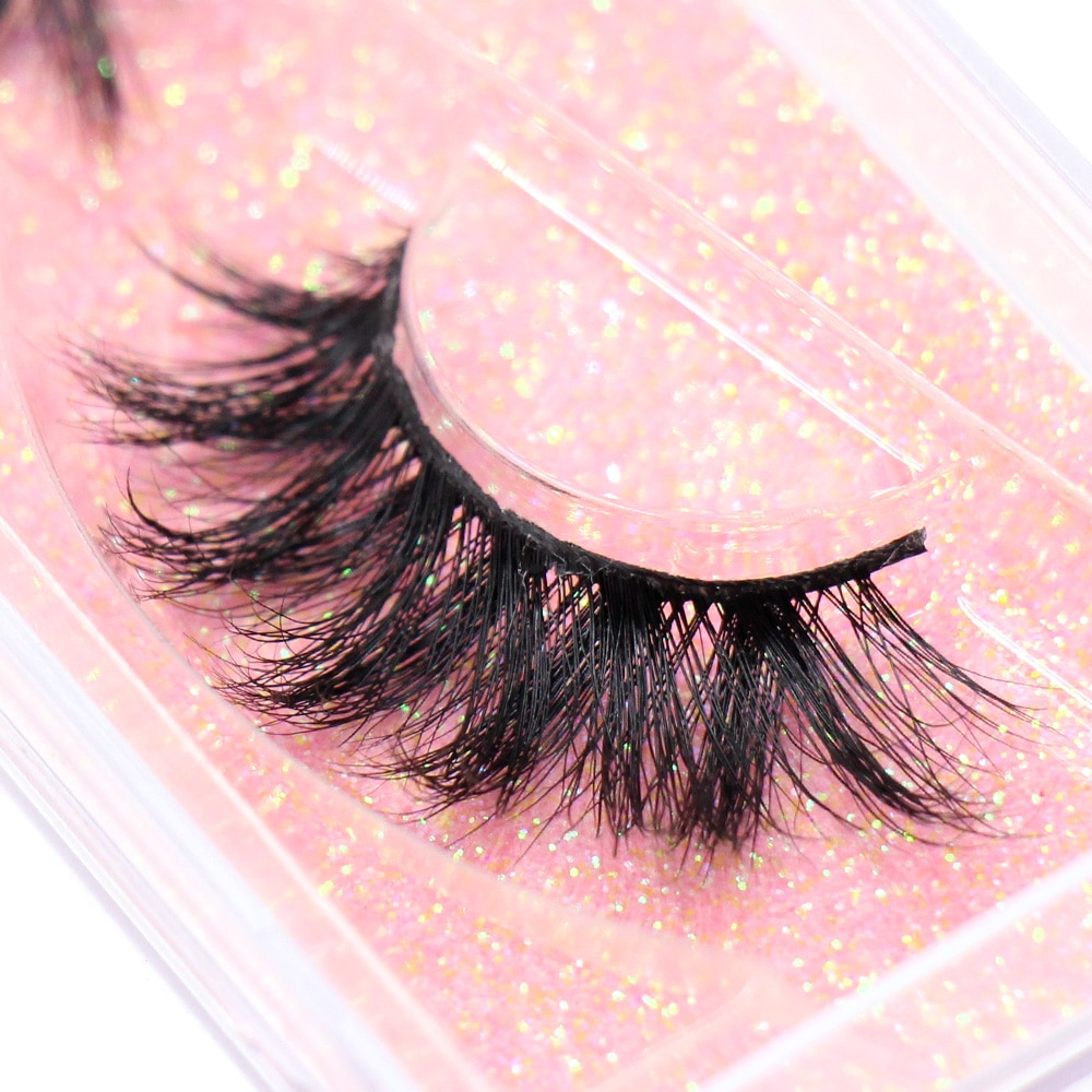 LEHUAMAO Makeup Mink Eyelashes 100% Cruelty free Handmade 3D Mink Lashes Full Strip Lashes Soft False Eyelashes Makeup Lashes недорого