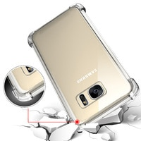 Противоударный армированный силиконовый чехол для Samsung Galaxy J4 J6 A6 A8 2018 S8 S9 Plus A3 A5 A7 J3 J5 J7 2016 2017 S7 Edge Note 8 9