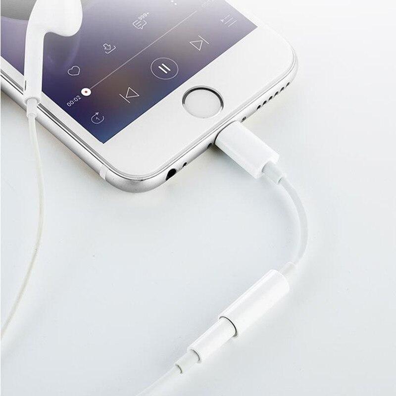 Adaptador de auriculares para iPhone 7, 8, 11, X, XR, AUX, IOS, 14, 11, 12, 13 a 3,5mm, Adaptador de cargador macho hembra