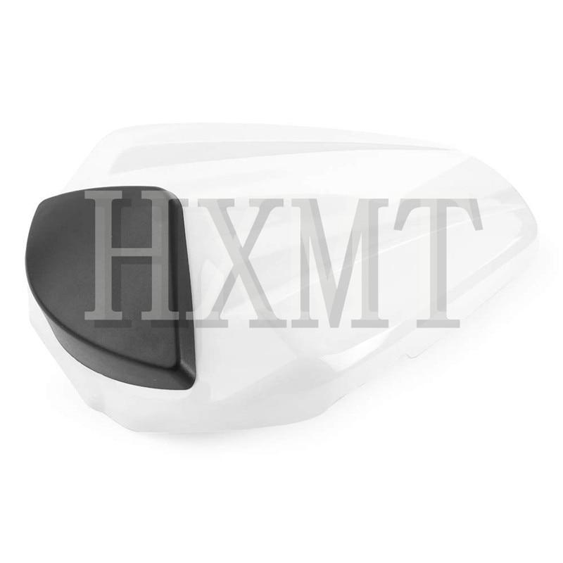 ل KTM Duke 125 200 390 KTM125 KTM200 KTM390 2012 2013 2014 2015 2016 الأبيض المقعد الخلفى الخلفي غطاء مقعد الطربوش سولو الطربوش الخلفية