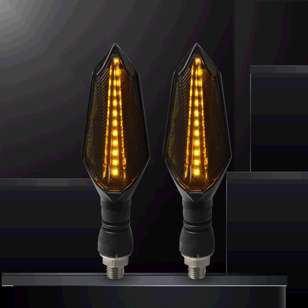 Señal que fluye indicador flash luces Led de la motocicleta para Yamaha TDM 850/900/un TMAX 500/530 SX/DX SRV250 SRX 400 600 TDR250
