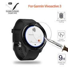 Pour Garmin Vivoactive 3 Ultra clair verre trempé musique écran protecteur Film protecteur garde montre Vivoactive3 couverture daffichage