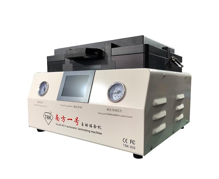 TBK-808 LCD شاشة تعمل باللمس إصلاح التلقائي آلة إزالة الفقاعات OCA فراغ آلة الترقق مع قفل أوتوماتيكي الغاز