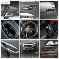 lapetus carbon fiber look interior refit for cadillac xt4 2019 2021 window lift seat adjustment memory button cover kit trim