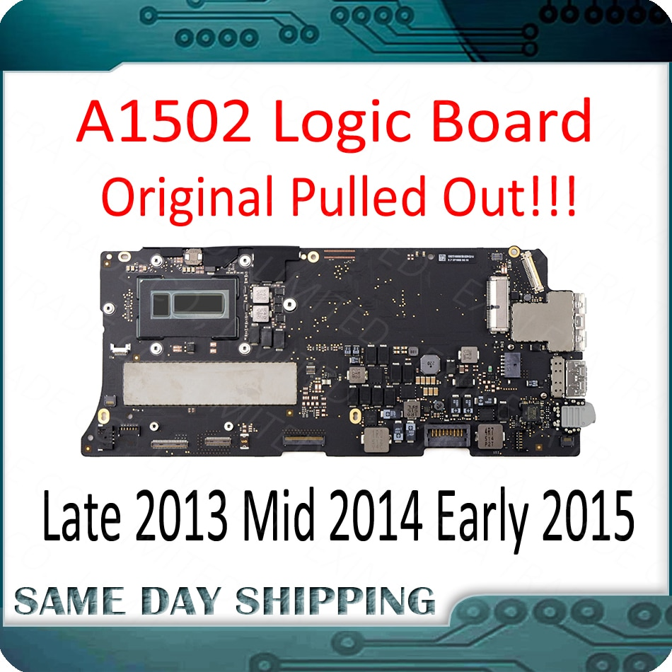 "Placa base perfecta para MacBook Pro Retina 13 ""A1502 placa base 820-4924-A 820-3476-A 2013 2014 2015 Año"