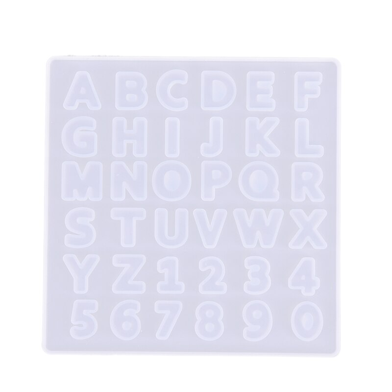 Schokolade Silikon Kuchen Form Ice Cube Candy Seife 26 Englisch Alphabet Buchstaben Pan Dekorieren Werkzeuge Seife Maker Tray