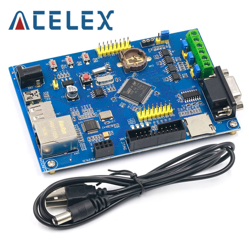 Industrielle Steuerung STM32F407VET6 Entwicklung Bord RS485 Dual KANN Ethernet Networking STM32