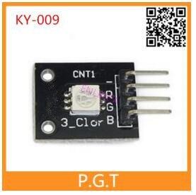 2PCS KY-009 3 Colour RGB SMD LED Board Module 5050 Full Three Color LED for  DIY Starter Kit KY009