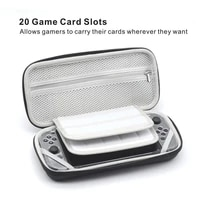 nintendoswitch carry case bag portable travel shell eva pouch for nintendos switch console accessories with game card holders