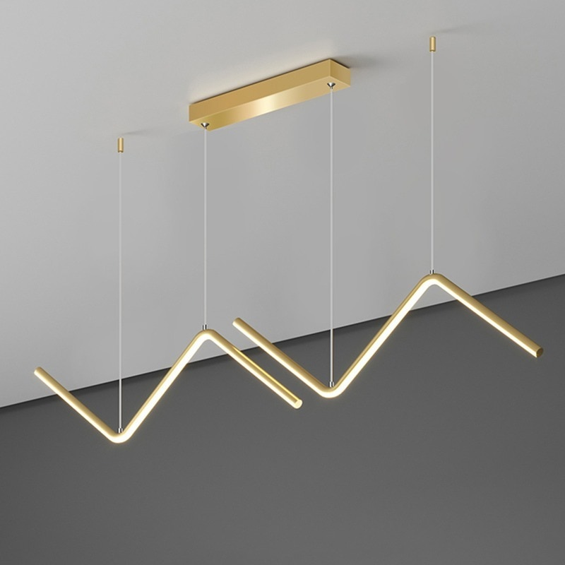 Modern Led Chandelier Lamp For Kitchen Dining Room Minimalist Design Home Decor Creative Restaurant Suspension Light Fixture
