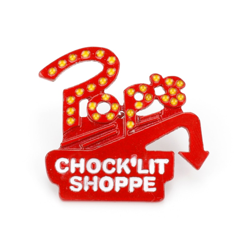 AliExpress - TV series Riverdale Enamel Pins Letter Brooch Pop's Chock'lit Shoppe Lapel Pin for Women Men Button Clothes Bag Badges Gift