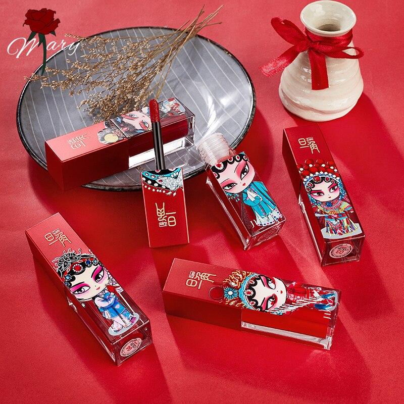Rosemary Peking-lápiz labial, maquillaje profesional, lápices labiales mate, resistente al agua, larga duración, labios rojos, brillo, maquillaje, belleza