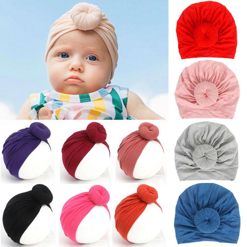 Accesorios de fotografía para recién nacidos, sombrero de bebé recién nacido, turbante para niños, sombreros para niño, gorro de invierno para niña, gorro de primavera 2019 nailon