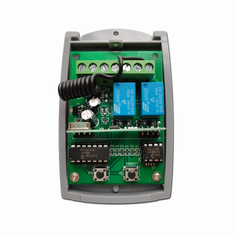Фото - receiver radio receiver 433Mhz 2 channels compatible with remote control ACM pascal pagani ultra wideband radio propagation channels