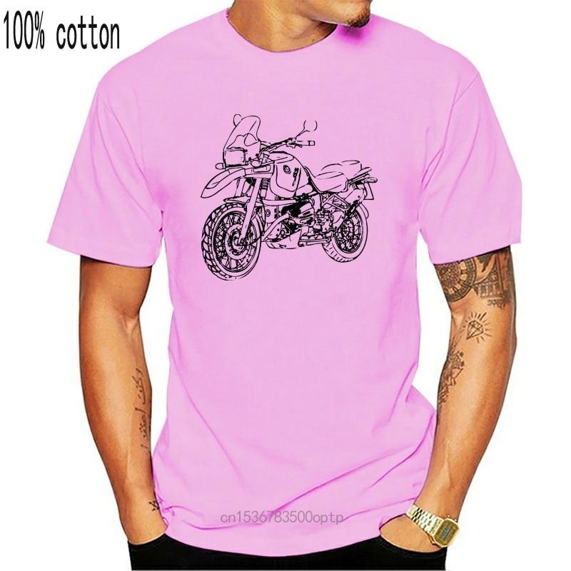 "2020 moda r1100gs t-camisa mit grafik typ r 1100 gs motorcycyle rally ""motorrad-fahrer"" camiseta"