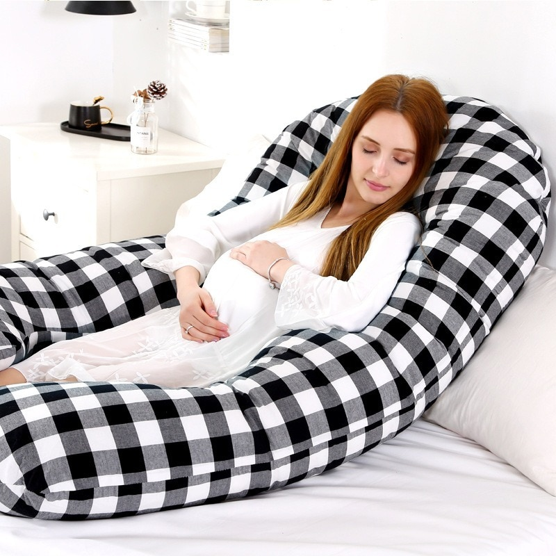 Multi-functional Cotton Washing Cotton Pregnant Woman Pillow Waist Pillow Can Be Removed and Washable