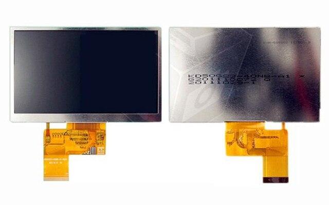 5.0 polegada 40P Tela TFT LCD Comum KD50G10-40NC-A3 KD50G10-40NC-B3 MP4 MP5 Tela GPS