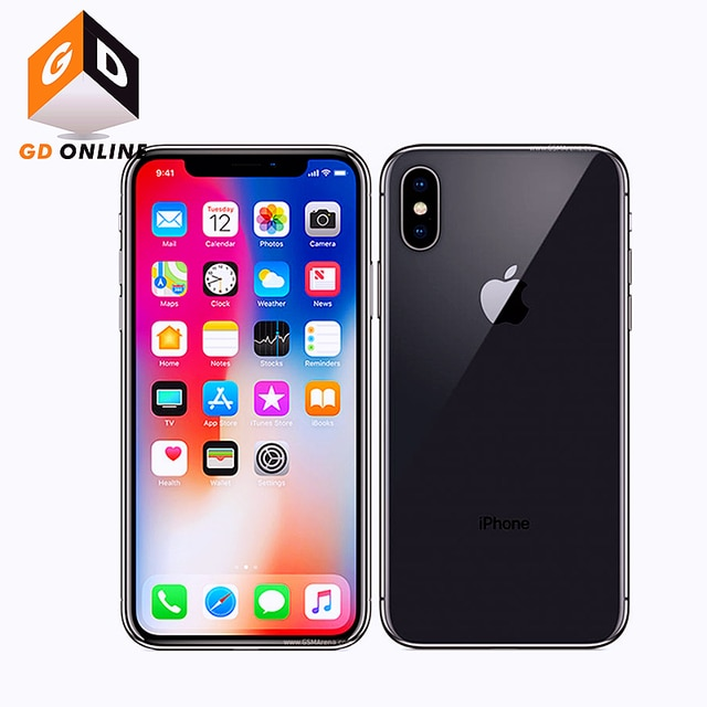 "Apple iPhone X RAM 3GB ROM 64/256GB Face ID 4G LTE 5.8"" A11 Bionic Hexa Core Full Screen Smartphone Original Unlocked Cell Phone 2"