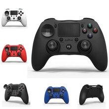 PS4 نموذج غير مشروع مقبض اللعبة اللاسلكية أربعة أجيال 4.0 بلوتوث الدجاج مقبض مزدوج الاهتزاز مع جيروسكوب