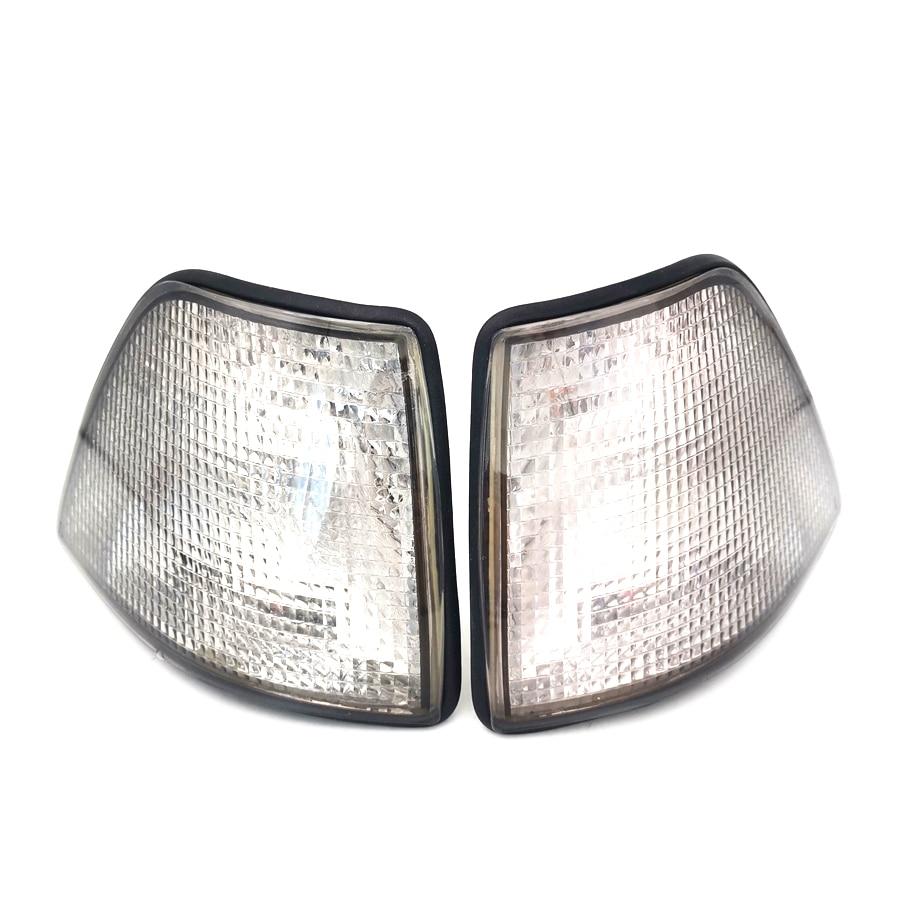 For BMW E36 3 Series 92-98 4DR Sedan & Wagon Front Corner Light Turn Signal Lamp