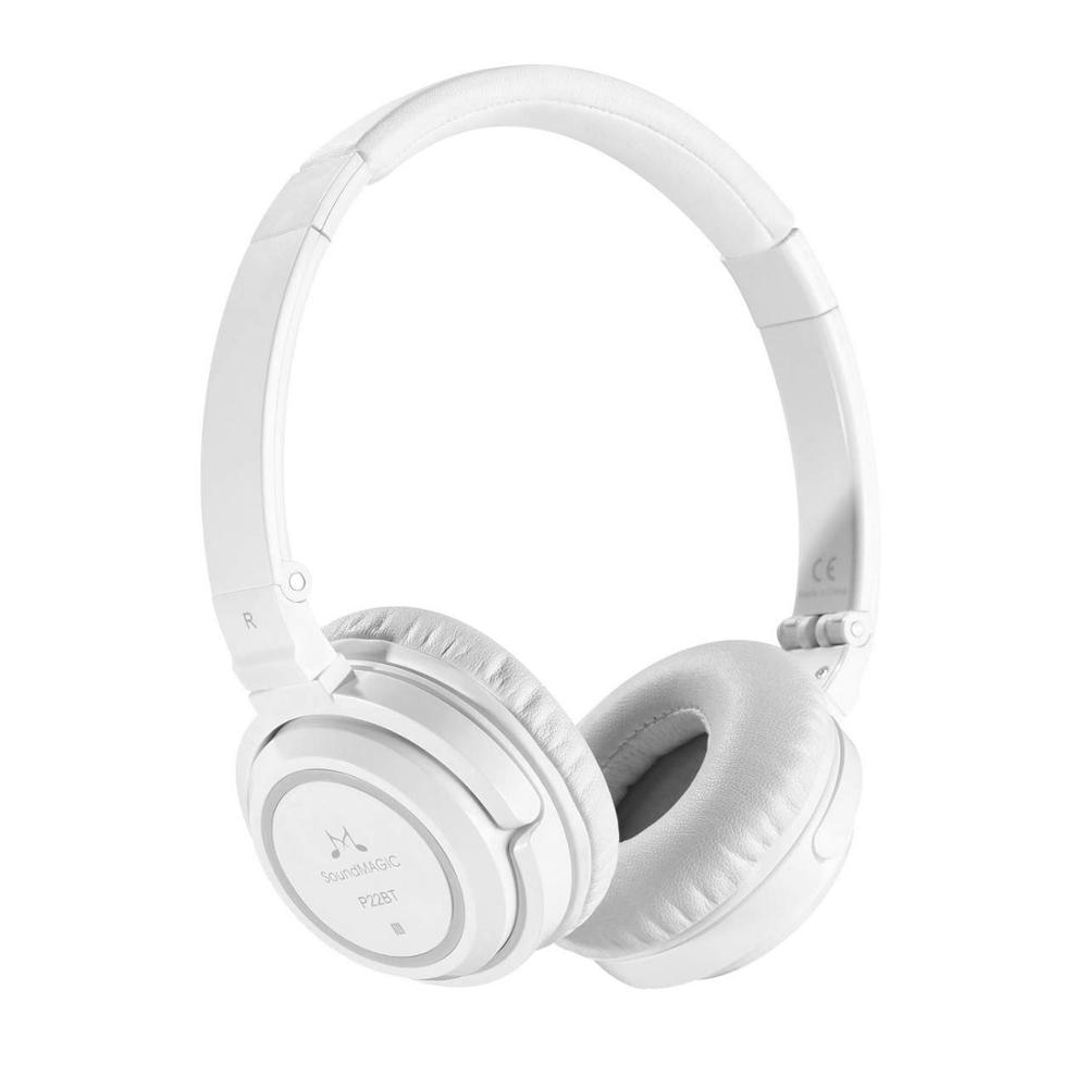 SoundMAGIC P22BT-سماعات بلوتوث لاسلكية ، سماعات أذن محمولة لعزل الضوضاء ، جهير قوي ، سماعة رأس ستيريو HiFi