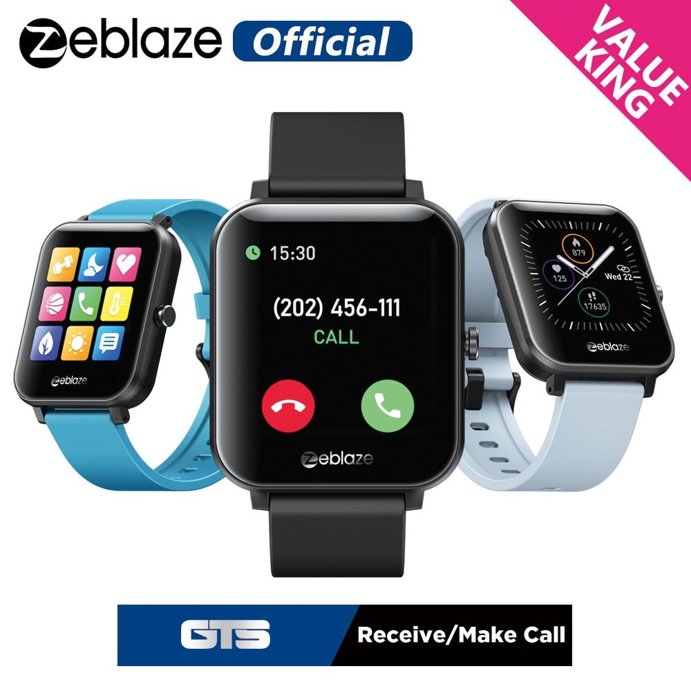 New Zeblaze GTS Bluetooth Calling smart band Receive/Make Calls Modes 60+ Watch Faces Smart Bracelet smartwatch 2020