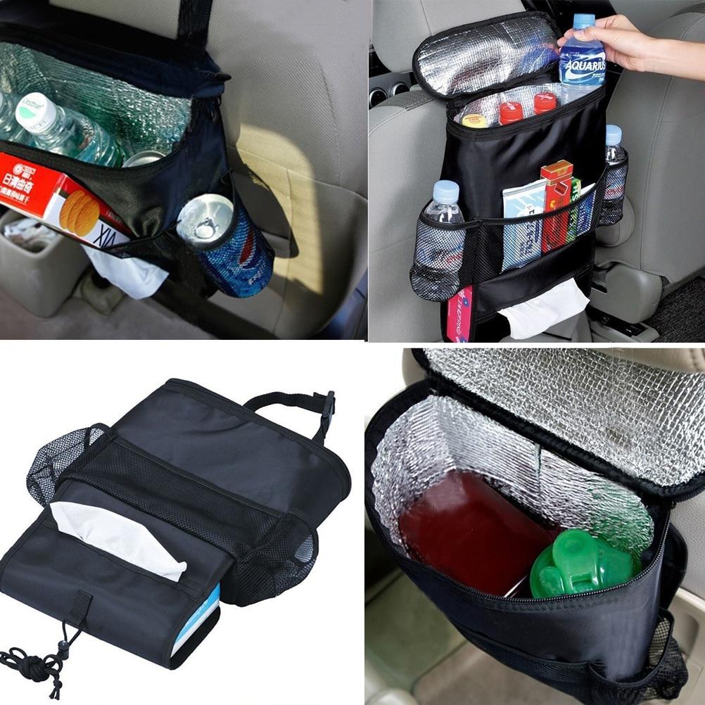 Новый рюкзак на автомобильное сиденье, детский Органайзер, изолированная дорожная сумка-холодильник для напитков,