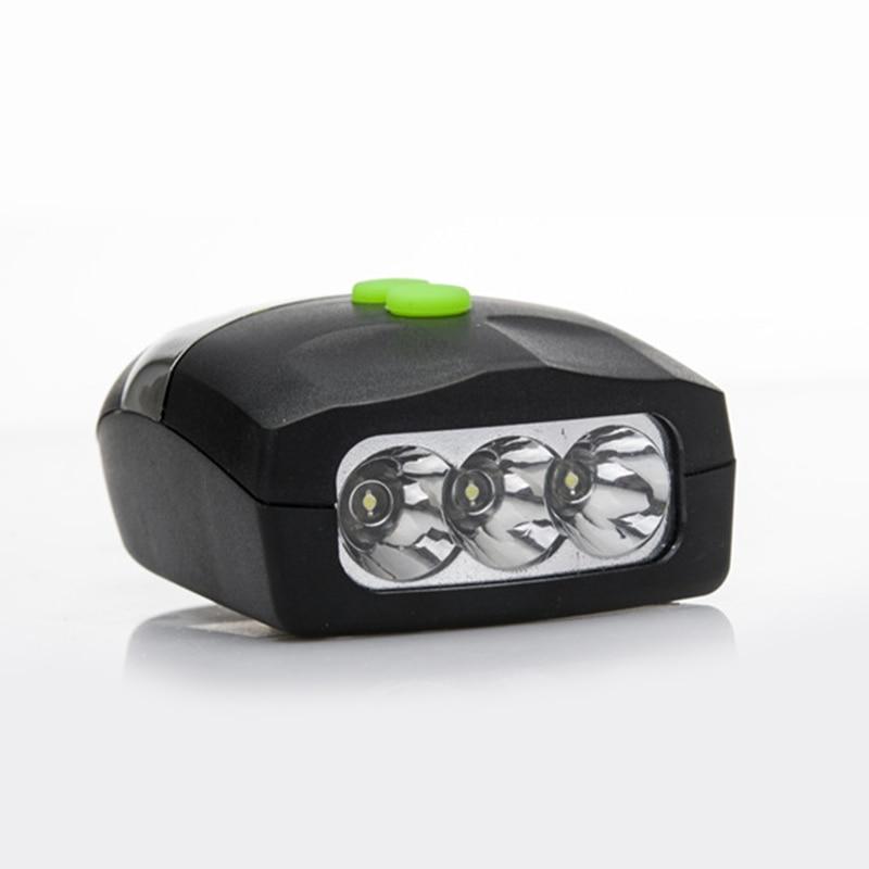 Lámpara frontal para bicicleta de 3 LED, ultrabrillante y claxon electrónico con campana, accesorios para bicicleta mvi-ing
