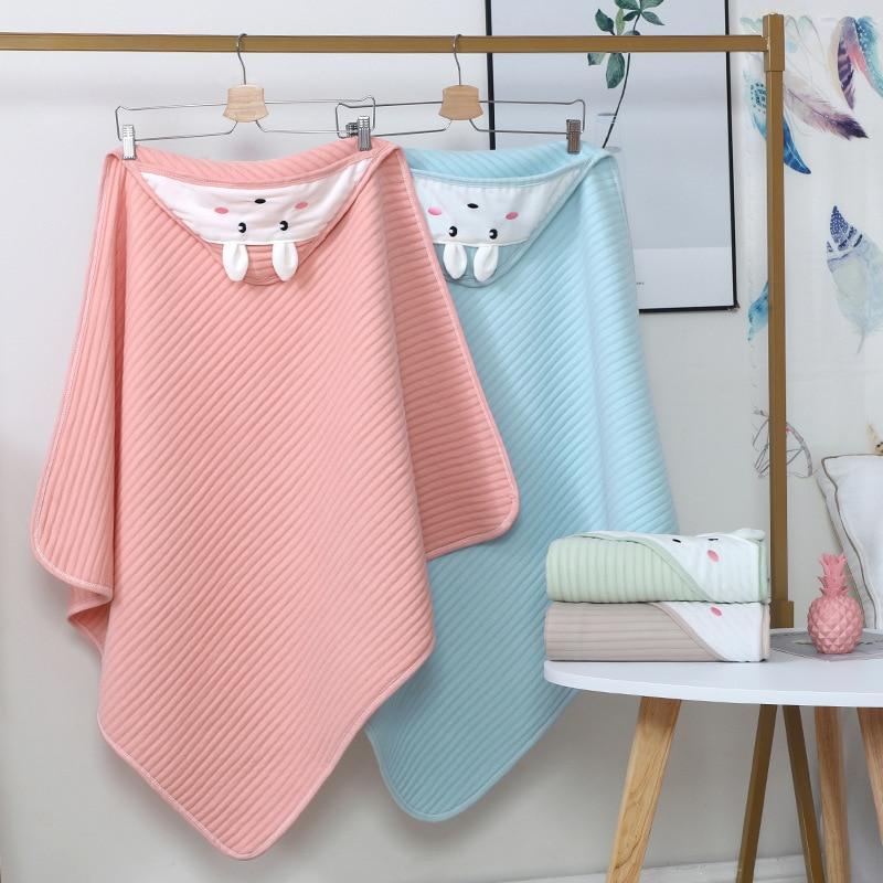Хлопковое муслиновое одеяло, комплекты постельного белья, Биби, полотенце для новорожденных, аксессуары, детское банное полотенце, летние о...