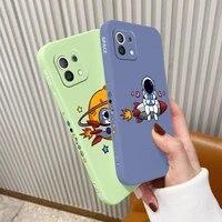planet call case for xiaomi mi 11 lite ultra 11i 10t 9t pro lite 10 10s 9 8 lite pro poco f2 x2 f3 pro soft phone cover case