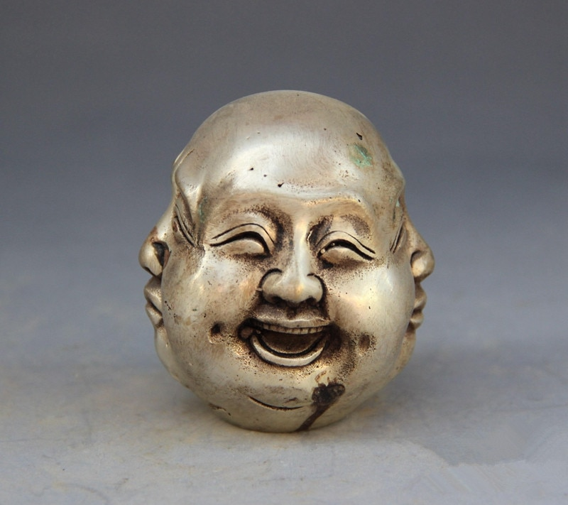 ¿La estatua de la cabeza de Buda en el Tibet de China?