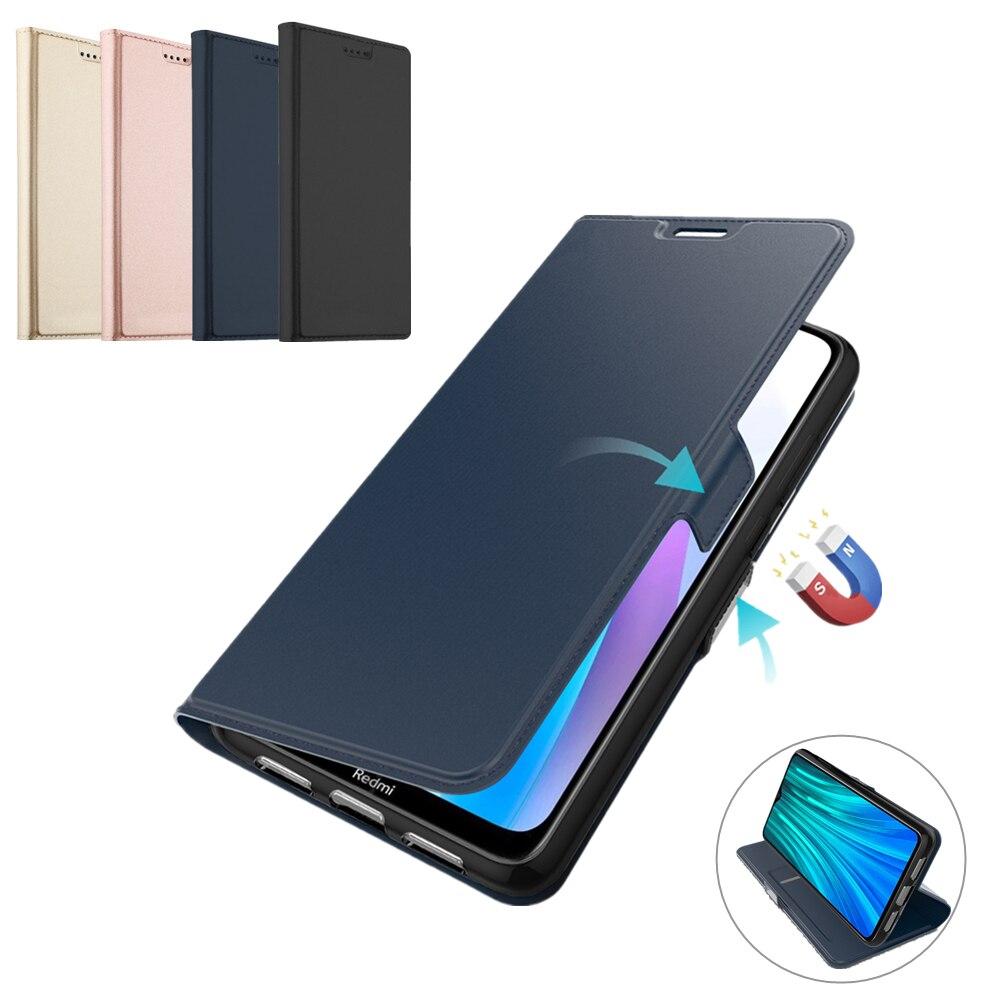 Para Xiaomi Redmi Nota 9S 8T 8 Pro caso de cartera de cuero PU Flip cubierta teléfono móvil F1 Mi 9T Mi nota 10 Mi 10 Pro caso ranura para tarjeta