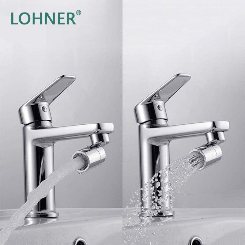 Устройство для вспенивания водопроводного крана Lohner, Двухфункциональное устройство для вспенивания, медный фильтр для кухни, защита от про... расширитель для водопроводного крана телескопический фильтр для ванной и кухни