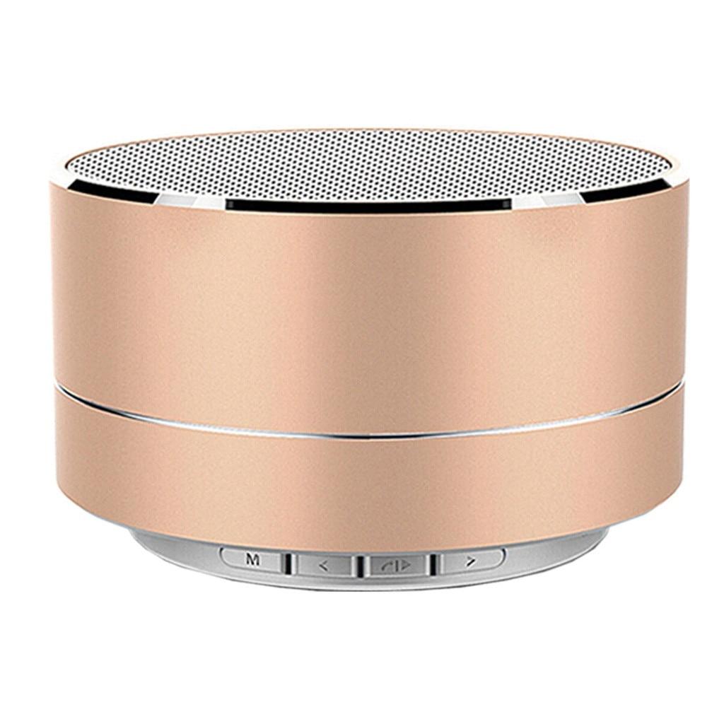 Mini altavoces Bluetooth altavoz LED manos libres inalámbrico TF música de sonido USB para iPhone X Samsung altavoz portátil para teléfono móvil