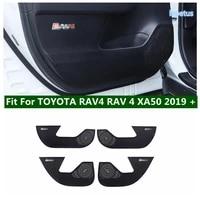 lapetus car door anti kick pad protective cover side edge film strip anti dirty sticker for toyota rav4 rav 4 xa50 2019 2021