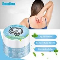 sumifun 3pcs original tiger balm cooling oil relieve headache dizziness prevent mosquito bites anti itching muscle massage cream