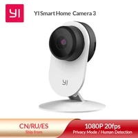 YI Smart Security Camera 3  AI-Powered 1080p Home Camera System IP Cam with 24 7 Emergency Response  Human Detection  Sound