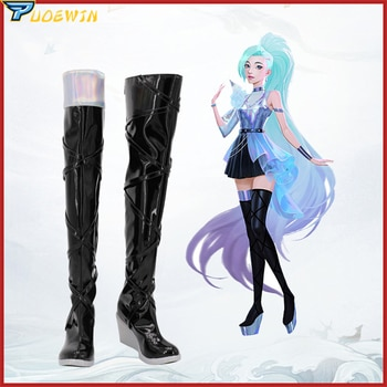 Game LOL Seraphine Cosplay Shoes Boots