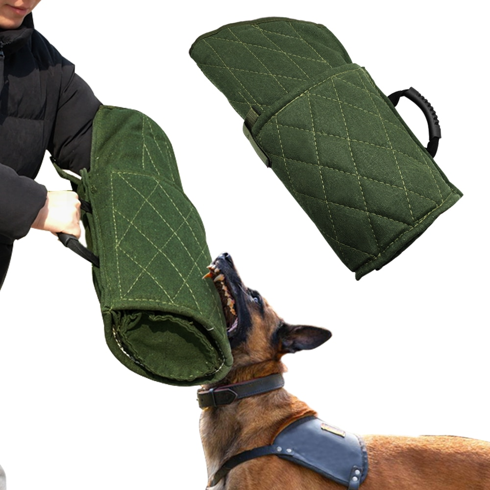 Dog Bite Sleeves Dog Bite Protection Arm Sleeve for Large Dogs Training Fit Left Right Hands for K9 German Shepherd Pitbull