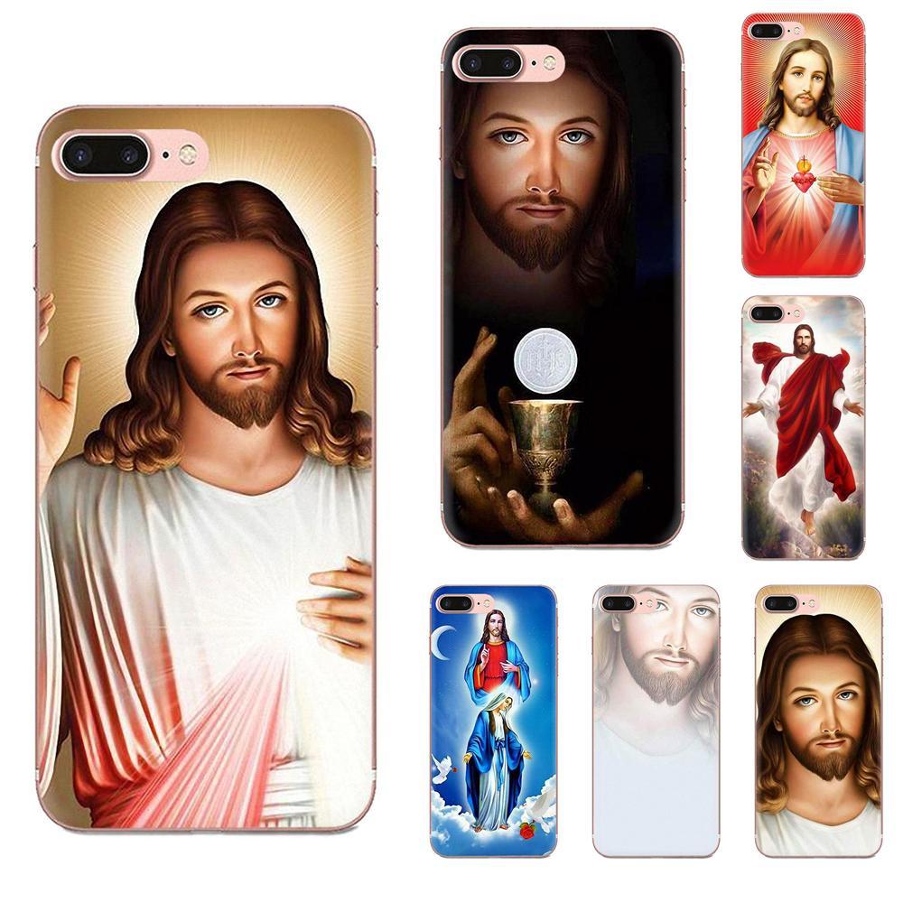 TPU casos para Xiaomi rojo mi 4 7A 9T K20 CC9 CC9e Nota 7 9 Y3 SE Pro mejor Coque de la cruz de Jesús