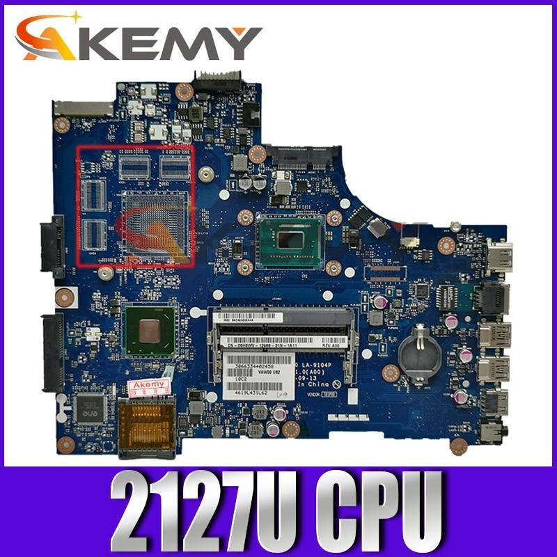 لوحة الأم الأصلية لأجهزة الكمبيوتر المحمول ديل انسبايرون 3521 LA-9104P 03H0VW 2127U