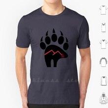 The Inner Way T Shirt 남성 여성 Teenage Cotton Tribal Bear Sioux Bear 체로키 베어 Ojibwe Nez Perce Blackfoot 캐나다 알래스카