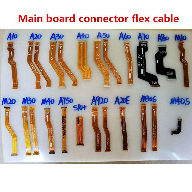 Placa principal conector de la placa base de Cable Flex para Samsung A10 A20 A30 A40 A50 A60 A70 A80 M10 M20 M30 M40 A750 S10 más A20E