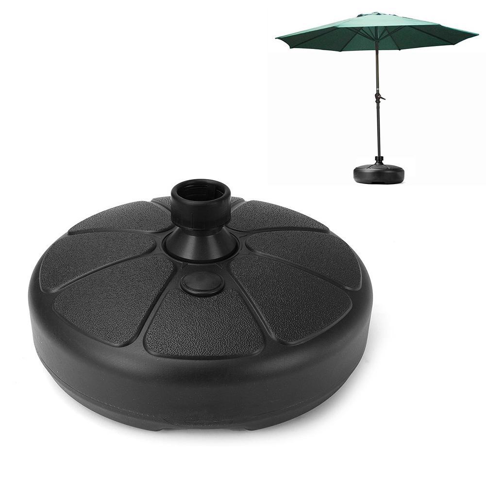 Хороший 38 мм круглый открытый сад пляжный навес двора зонтик стенд зонтик база держатель