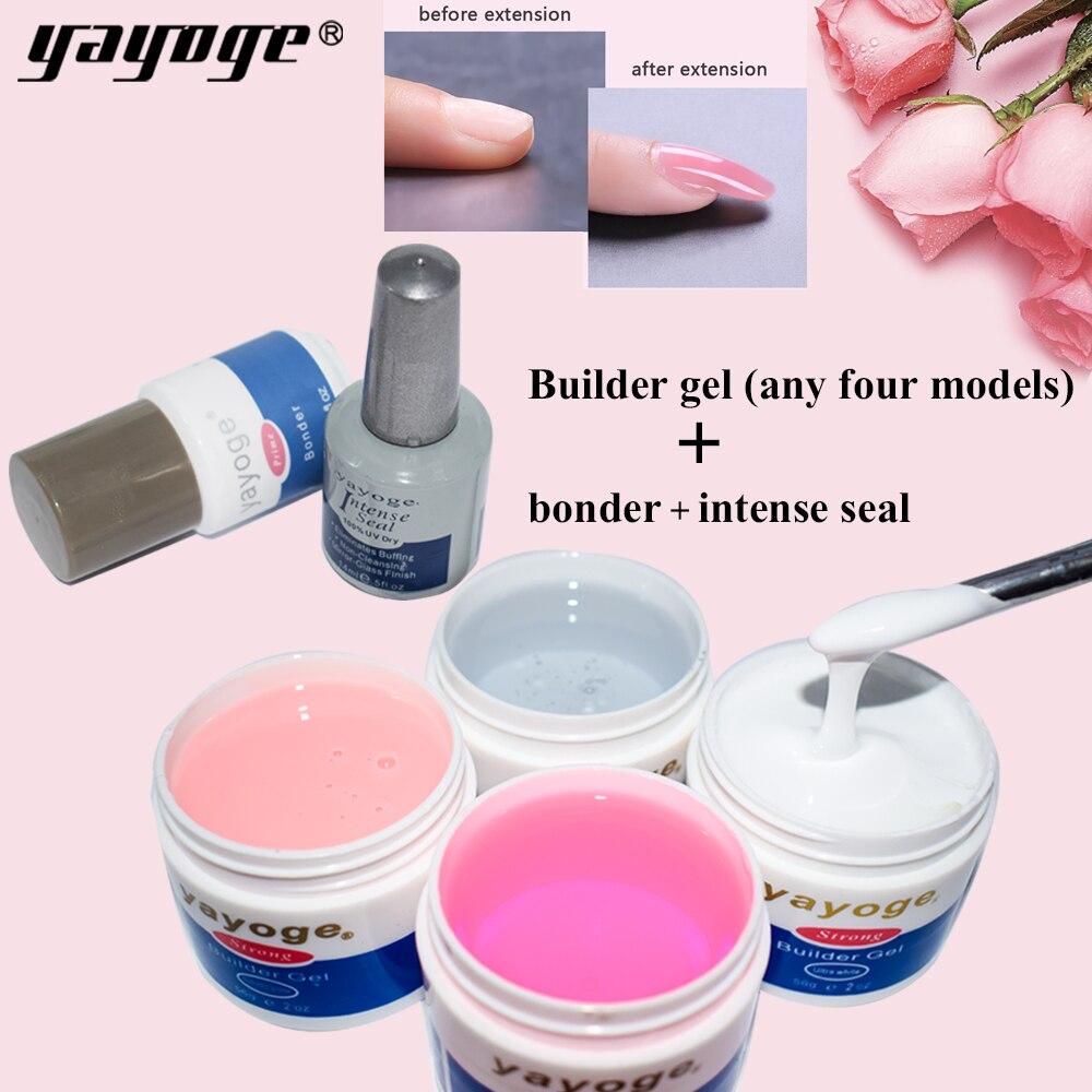 Yayoge Builder Gel para uñas de gel UV polaco color de camuflaje UV de jalea Gel Mancure conjunto para arte de uñas remoje