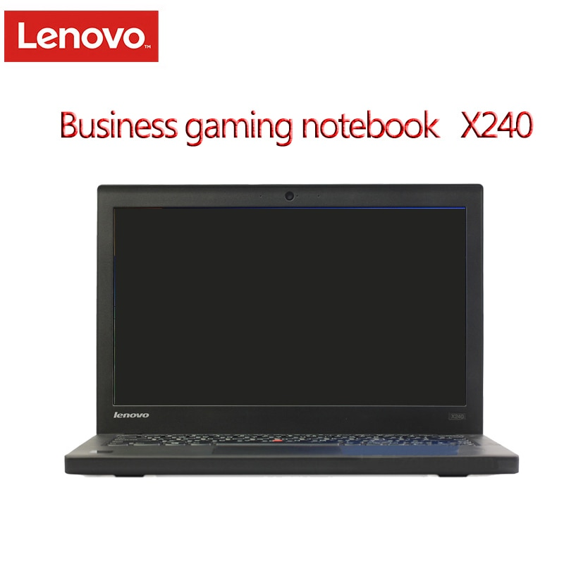 Review Used Laptop Lenovo ThinkPad X240 Notebook Computers 4GB Ram Laptop 12.5 Inches Win7 English System Diagnosis Pc Tablet Refurbish