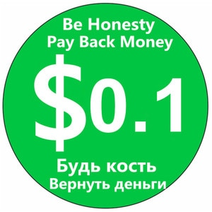 Be Honesty! Pay Back Order Money After You Receive The Order. The Dispute Is Over,money Has Return To You, You Have To Pay Back!