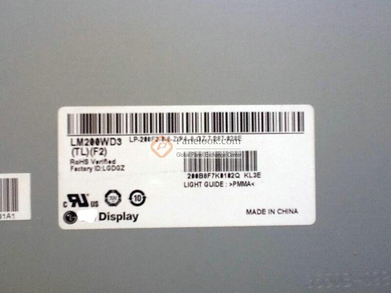 "Pantalla de 20,1 pulgadas 1680x1050 LM201WE3 TLF2 para Panel LCD iMac 20 ""A1224"