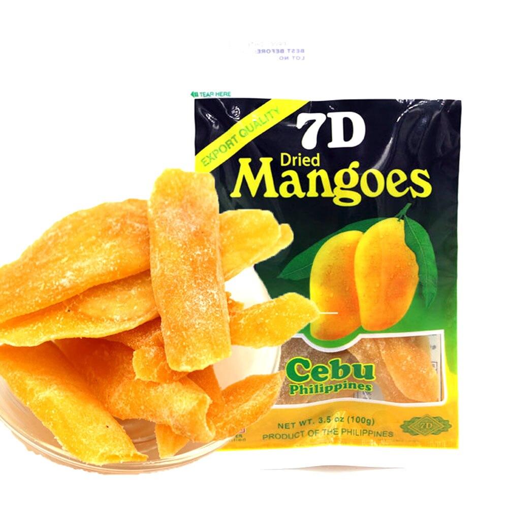 2019 100g filipino frutas secas manga 7d lanche